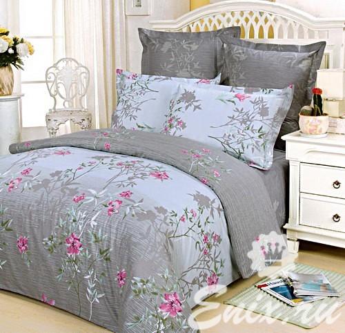 Сатиновое постельное белье СайлиД В31 ― Нега сна ebdd2b3fe4e35